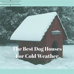 best dog house for cold weather moberry pets With best insulated dog house for cold weather
