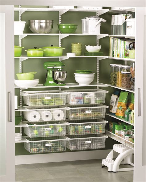 17 best images about elfa pantry on wall racks