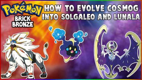 evolve cosmog  solgaleo  lunala pokemon