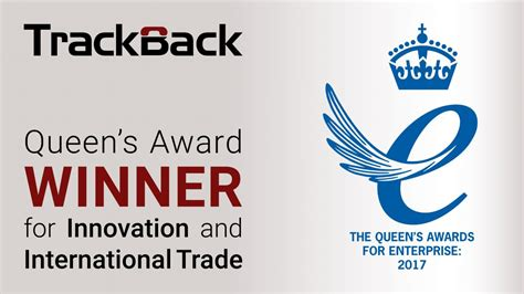 Trackback Wins Two Queen's Awards For Innovation And