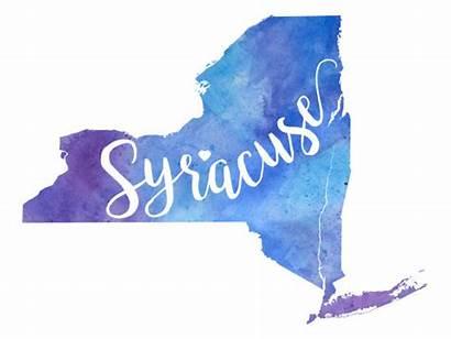 Syracuse York Illustrations Clip