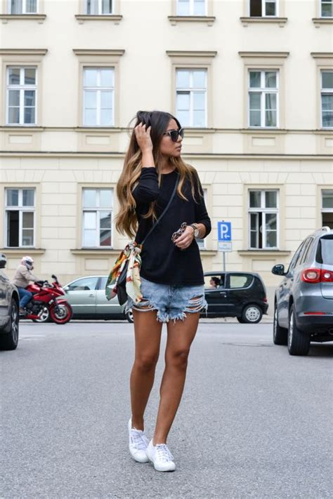 5 White Sneakers Outfit Ideas for Summer u2013 Glam Radar