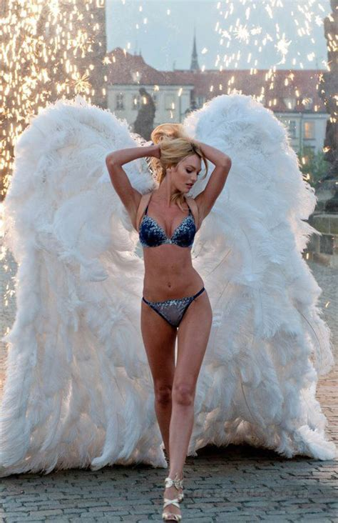 Candice Swanepoel #vs Angel Wings Victoria's Secret
