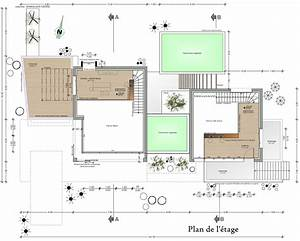 cuisine cool plan maison contemporaine plan maison With plan de maison moderne gratuit