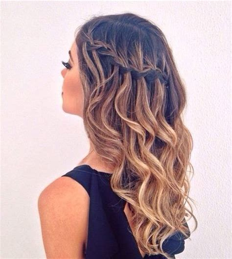 Braided And Curled Hairstyles by Best 25 Hairstyles For Graduation Ideas On