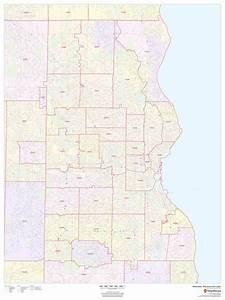 Milwaukee Zip Code Map