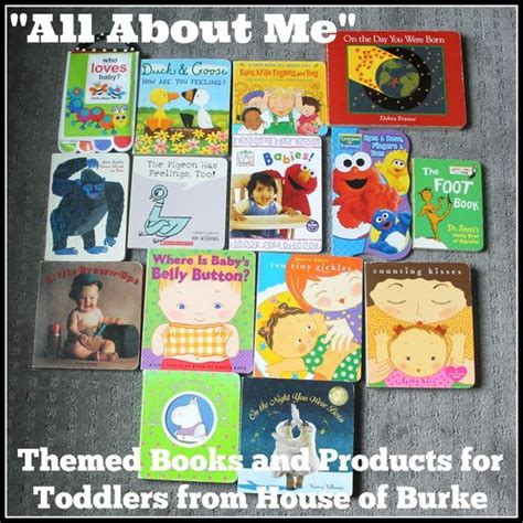 quot all about me quot themed books and products for toddlers 297 | fb7c4c4d64df2783fb5ba52573e851bd