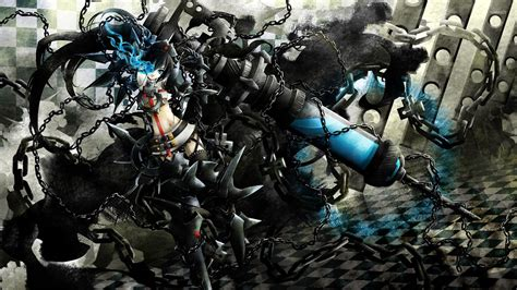 Black Rock Shooter Anime Wallpaper - stella in chains black rock shooter wallpaper anime