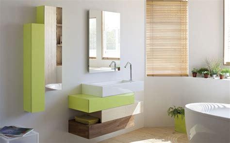 meuble salle de bain colore meuble de salle de bain design pas cher photo 20 20 un meuble en bois suspendu et tr 232 s