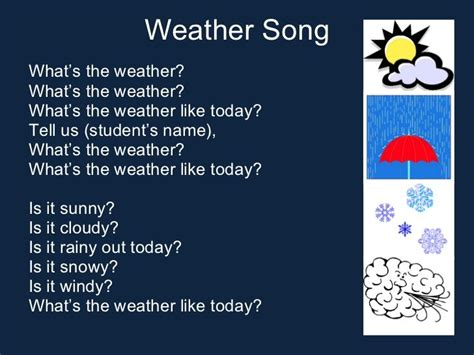 best 25 weather song ideas on circle time 276 | 5f4839a6478704a0cf4072b3b8b2a160