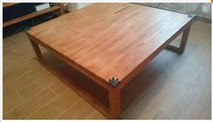 Table Basse Occasion : table basse carr e bois alinea ~ Teatrodelosmanantiales.com Idées de Décoration