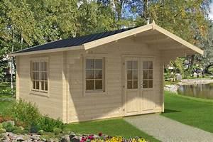 Gartenhaus Mit Vordach : holz gartenhaus mit vordach marcus b 14 5m 44mm 4x4 ~ Articles-book.com Haus und Dekorationen