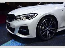 Paris 2018 BMW 3er G20 mit M SportPaket in Mineralweiß