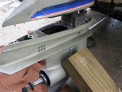 Johnsonevinrude Lower Unit Disassembly Funnydogtv