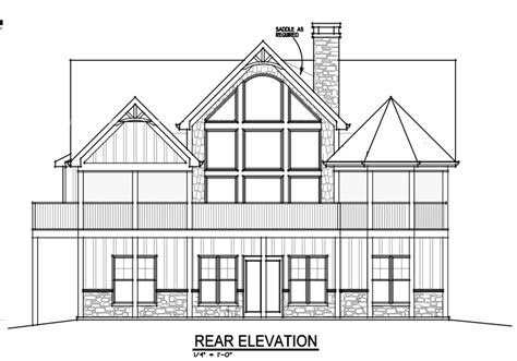 house plans with large windows mountain house with open floor plan by max fulbright designs