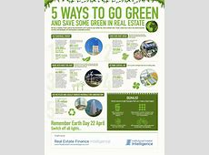 Infographic 5 ways to go green in real estate Proud