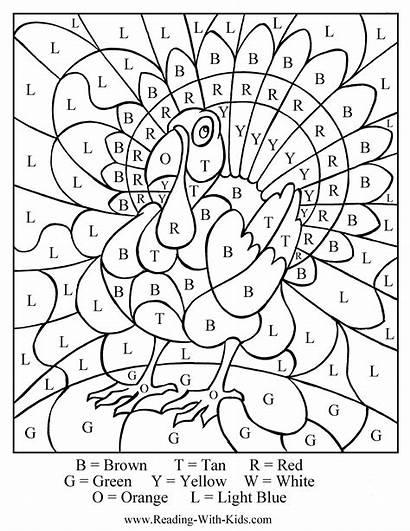 Coloring Pages November Sheets Thanksgiving Printable Crafts