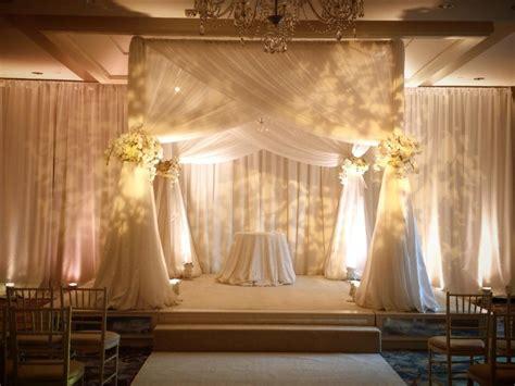 Expo Pipe And Drape - adjustable sheer wedding backdrop wedding reception