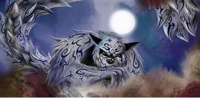 Wallpapers Tailed Naruto Beasts Shippuden Shukaku Nine
