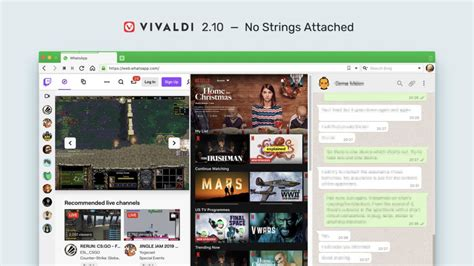 vivaldi released customization compatibility better options site