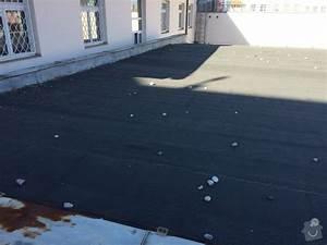 Oprava asfaltové střechy