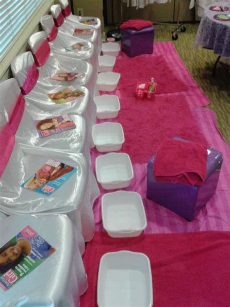 Spa Birthday Party Ideas! See more party ideas at