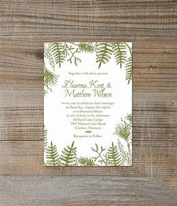 printable digital rustic woodland green forest wedding With etsy forest wedding invitations