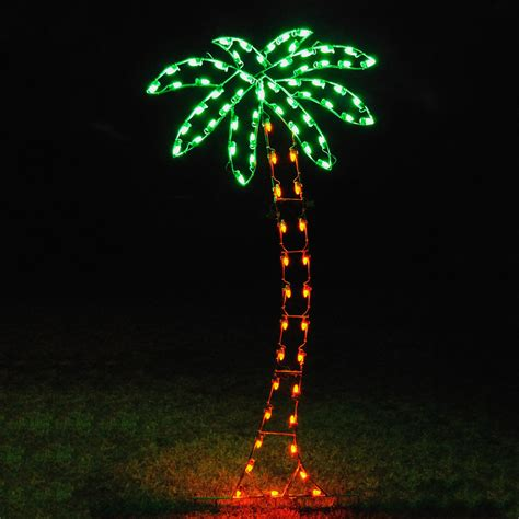 light up outdoor trees christmas shop holiday lighting specialists 8 83 ft palm tree