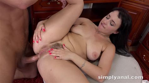 Simply Anal Sexy Brunette With Big Natural Tits Tanika