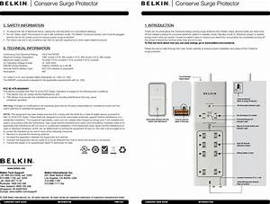 Belkin Bg200001 Conserve Remove Switch User Manual