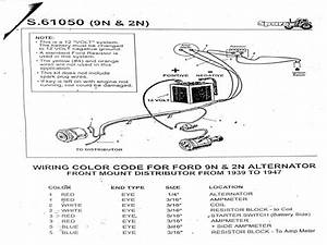 Ford 8n Tractor Wiring Diagram Parts And Diagrams