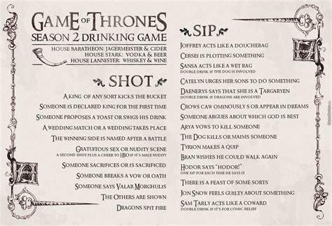 game  thrones drinking game  recyclebin meme center