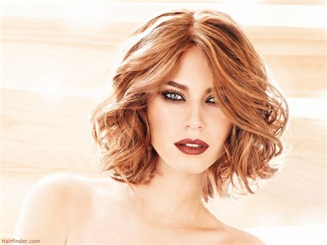 Medium  Hairstyle : Medium Bob Curly Hairstyles