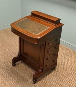 antique davenport desk antiques world With antique letter writing desk