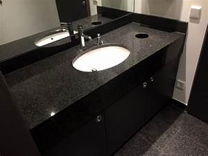 Platte Für Waschtisch : bad naturstein arbeitsplatte waschtisch waschtischplatte schwarz granitplatte ebay ~ Markanthonyermac.com Haus und Dekorationen
