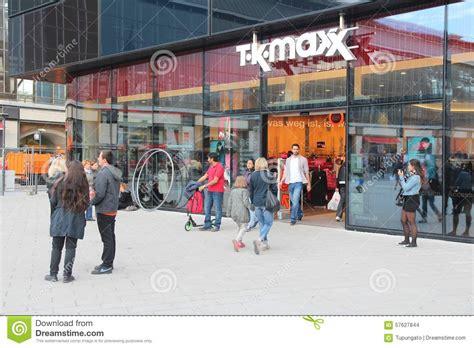 tk maxx store editorial stock image image europe