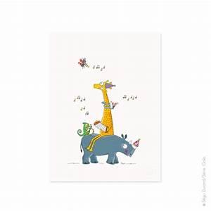 affiche guinguette deco chambre bebe et enfant serie golo With affiche chambre bébé avec champ de fleurs le bon coin