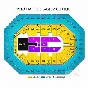 BMO Harris Bradley Center Tickets - BMO Harris Bradley ...