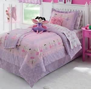 ballerina ballet girls full comforter set 8 piece bed in a bag new ebay