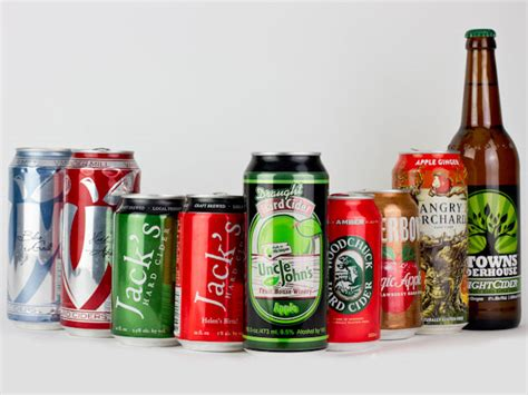 ciders american drinks cans canned cider hard apple chris photographs seriouseats hero