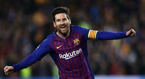 messi lleva al barcelona  semifinales de la champions el