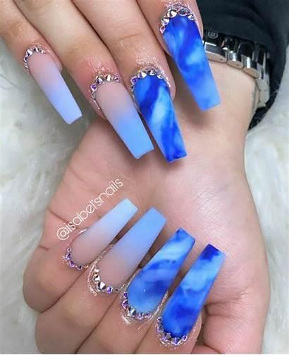 Acrylic Nails Nail Follow Bling Neutral Fashions