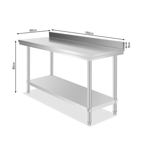 Commercial Stainless Steel Food Work Prep Table 60 X 24. Bed With Desk Under. Servicenow Help Desk. Table Carts. Wardrobe Closet With Drawers. Table Paper. Table Rentals San Diego. Filet Table. Foldable Work Table