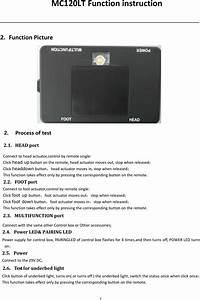 Keeson Technology Mc120 Control Box User Manual Mc120