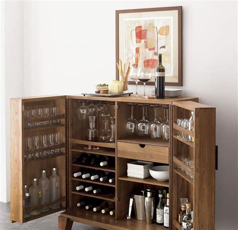 Mini Bar Cabinet by Mini Bar Furniture For Stylish Entertainment Areas