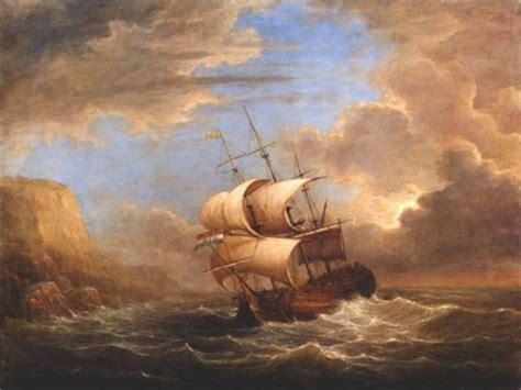 gambar ilustrasi lukisan pemandangan alam pantai