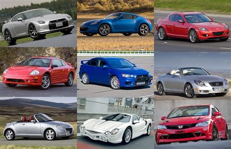 japanese sports cars of 2000s quiz by alvir28