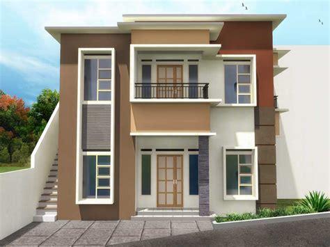 gambar rumah minimalis  lantai  sederhana