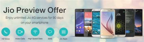 reliance jio 4g sim offer list of all the eligible smartphones from samsung apple xiaomi and more