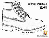 Coloring Pages Boots Construction Yescoloring Boot Sheets Truck Printables Snow Dump Colouring Shoes Hat Hard Bold Dirty Bossy Sketch Basketball sketch template